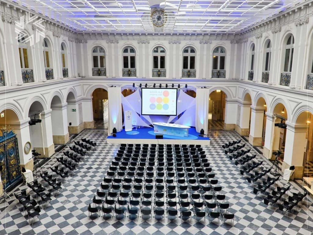 Organiser une conférence d'entreprise au Palais de la Bourse à Bordeaux