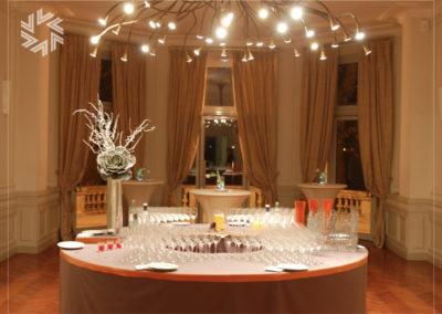 organiser showroom événement chateau grattequina